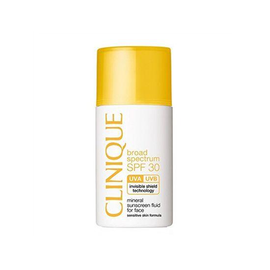 Clinique Ásványi napvédő fluid arcra SPF 30 (Mineral Sunscreen Fluid For Face) 30 ml