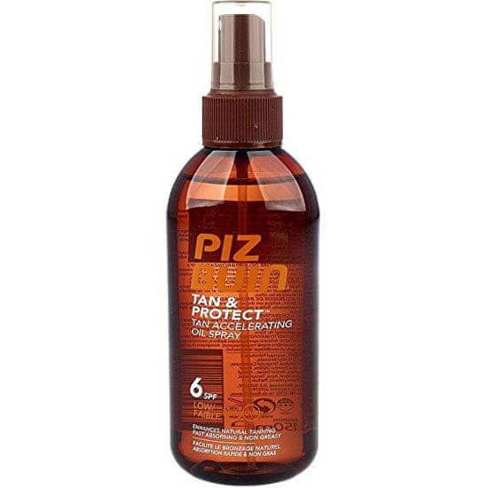 PizBuin (Tan Accelerating Oil Spray) Tan & Protect SPF 6 (Tan Accelerating Oil Spray) 150 ml