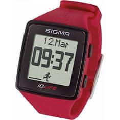 Sigma Pulsmetr iD.LIFE czerwony 24620