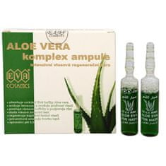 Eva Cosmetics Aloe Vera Vlasové ampule 5 x 10 ml