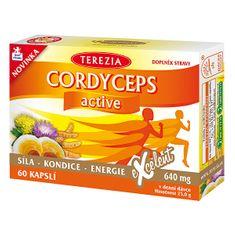 TEREZIA COMPANY Cordyceps Active 60 kapsúl