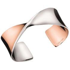 Calvin Klein Dvobarvnamasivna zapestnica SuppleKJ7SPF2003 (Dimenzija 54 x 46)