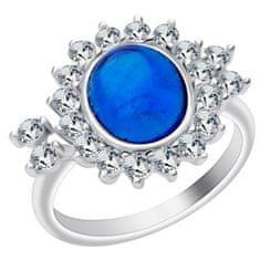 Preciosa Stříbrný prsten Camellia 6108 68 stříbro 925/1000
