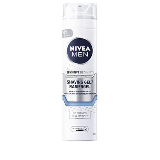 Nivea Obnovujúci gél na holenie pre citlivú pleť Sensitive (Recovery Shaving Gel) 200 ml