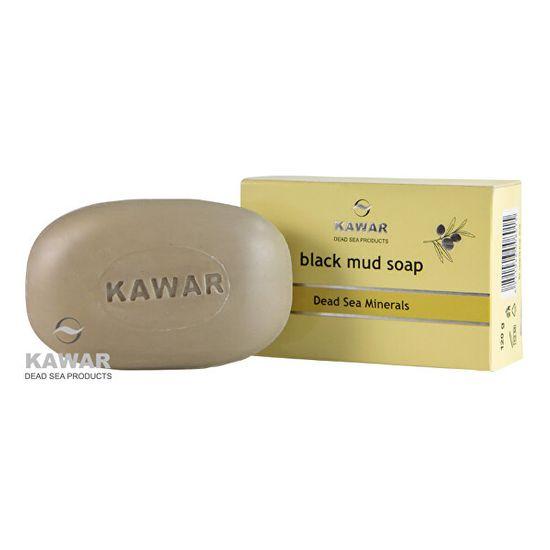 KAWAR Mýdlo s obsahem černého bahna z Mrtvého moře 120 g