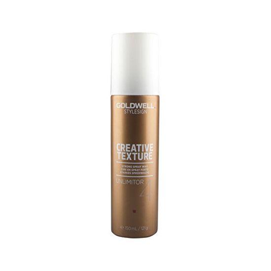 GOLDWELL Viasz hajlakk StyleSign Creative Texture (Strong Spray Wax Unlimitor 4) 150 ml