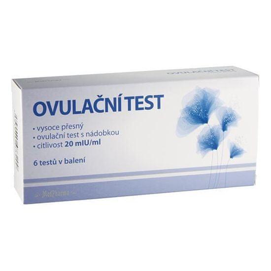 MedPharma Ovulační test 20mIU/ml 6 ks