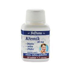 MedPharma Kremík 30 mg + biotín + selén + PABA 30 tob. + 7 tob. ZD ARMA
