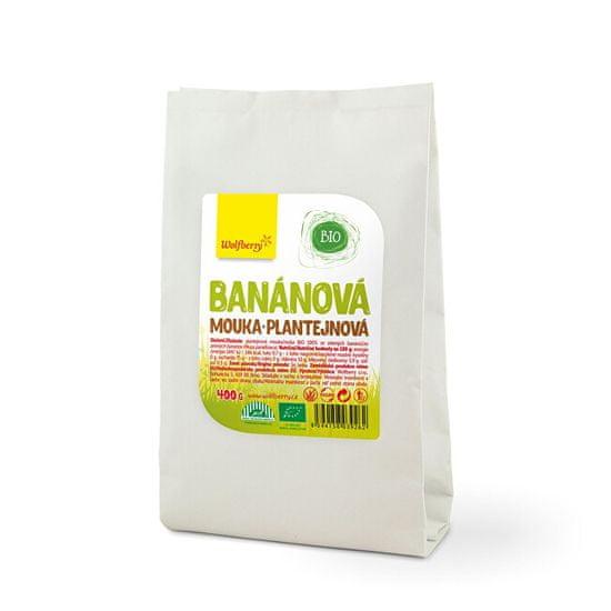Wolfberry Banánová mouka plantejnová BIO
