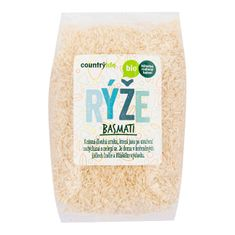 Country Life Rýže basmati BIO (Varianta 1 kg)