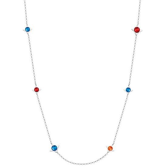 Preciosa Jeklena ogrlica z zvezdicami Gemini 7337 70