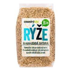 Country Life Rýže dlouhozrnná natural BIO (Varianta 0,5 kg)