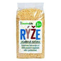 Country Life Rýže jasmínová natural BIO (Varianta 0,5 kg)