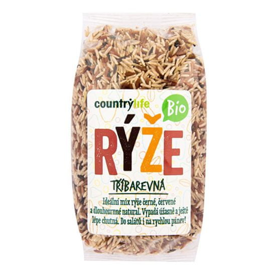 Country Life Rýže tříbarevná BIO