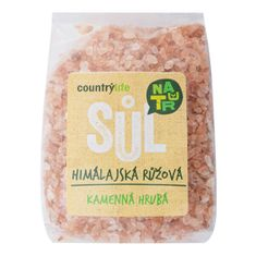 Country Life Sůl himálajská růžová hrubá 500g