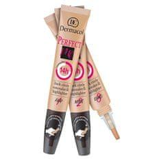 Dermacol Tökéletesítő korrektor és fényesítő 2 in 1Perfect Me (Concealer & Highlighter) 7 ml (árnyalat 2 Nude)