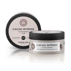 Maria Nila Cacao Intense gyengéd, tápláló hajmaszk színpigmentek nélkül(Colour Refresh Mask) (Mennyiség 100 ml)