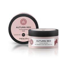 Maria Nila Autumn Red gyengéd, tápláló hajmaszk színpigmentek nélkül (Colour Refresh Mask) (Mennyiség 300 ml)