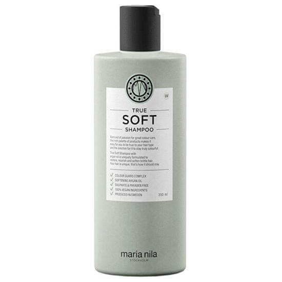 Maria Nila Szampon nawilżający z olejem arganowym do włosów suchych True Soft (Shampoo)
