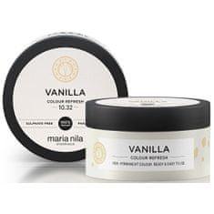 Maria Nila Vanilla gyengéd, tápláló hajmaszk színpigmentek nélkül(Colour Refresh Mask) (Mennyiség 300 ml)