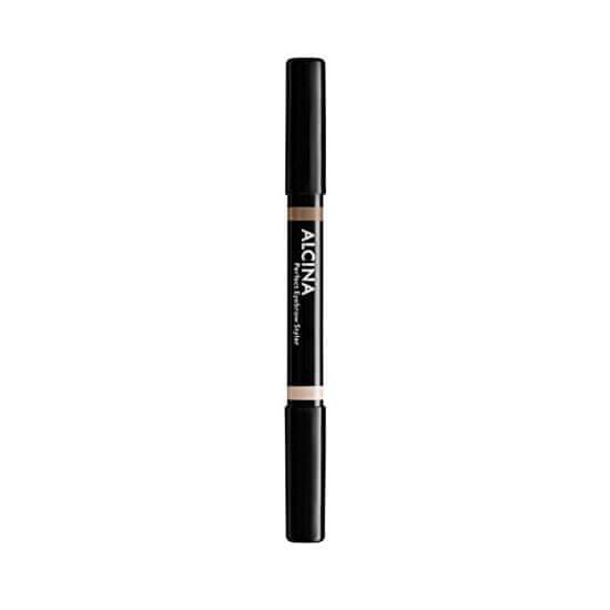 Alcina Oboustranná tužka na obočí (Perfect Eyebrow Styler)