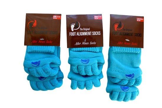 Pro nožky Adjustačné ponožky BLUE