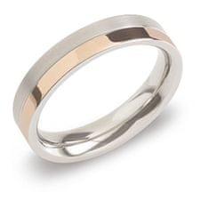 Boccia Titanium Pozlačen prstan iz titana 0129-07 (Obseg 63 mm)