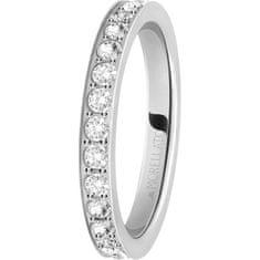 Morellato Ocelový prsten s krystaly Love Rings SNA41 (Obvod 52 mm)