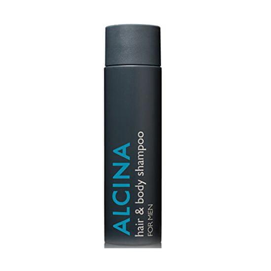 Alcina Sprchový gel pro vlasy i tělo For Men (Hair & Body Shampoo) 250 ml