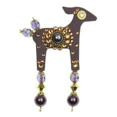 Deers Little Purple Doe Becca - T. KUCHAŘOVÁ OSNOV
