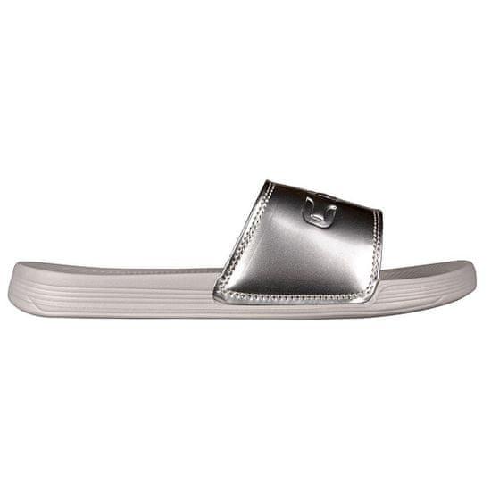 Coqui Ženski copati Sana Khaki Grey / Silver 6343-100-4699