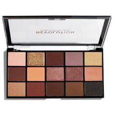 Makeup Revolution Ponovno naložena barvna barva za oči Velvet Rose (Palette Velvet Rose) 15 x 1,1 g (Odtenek Velvet Rose)