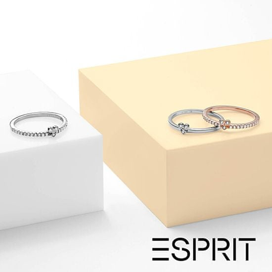 Esprit Srebrni prstan s kristali Play ESRG005312 srebro 925/1000