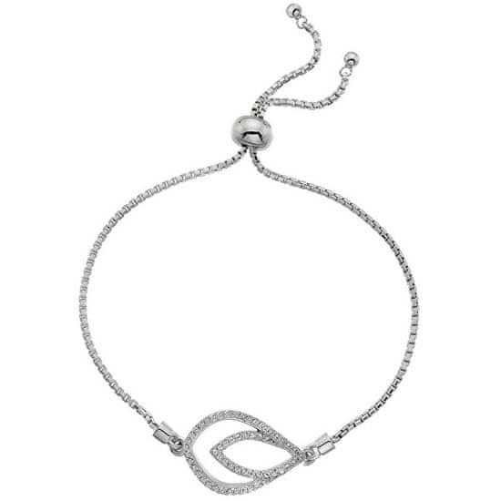 Hot Diamonds Srebro bransoletka z odpowiednim diamentem Lily DL592