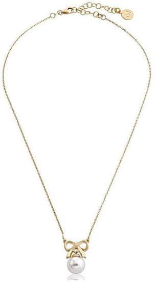 Majorica Srebrna ogrlica z bisernim in lokom 15300.01.1.000.010.1 srebro 925/1000
