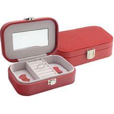 Jan KOS Rdeča škatla za nakit SP-487 / A7
