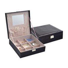 Jan KOS Črna škatla za nakit SP-825 / A25