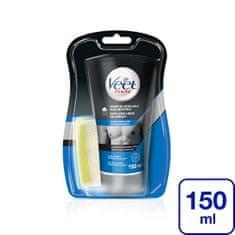 Veet Moška krema za tuširanje Silk & Fresh za tuširanje za občutljivo kožo 150 ml