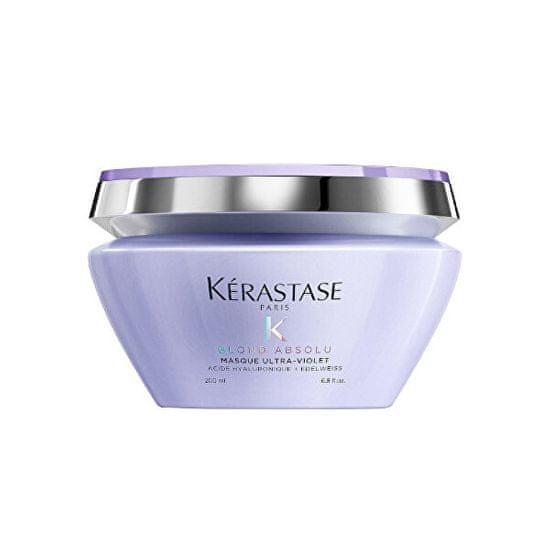 Kérastase Ápoló hajpakolás szőkített hajra Blond Absolu Ultra Violet(Mask) 200 ml