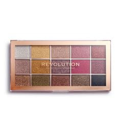 Makeup Revolution Paletka očných tieňov Foil Frenzy 15 x 2 g