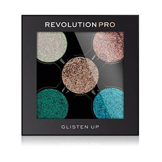 Revolution PRO Csillámpor utántöltő palettába PRO Refill (Glisten Up) 6 g