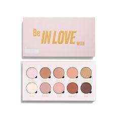 Makeup Obsession Szemhéjfesték paletta szerelmes 10 x 1,3 g-mal