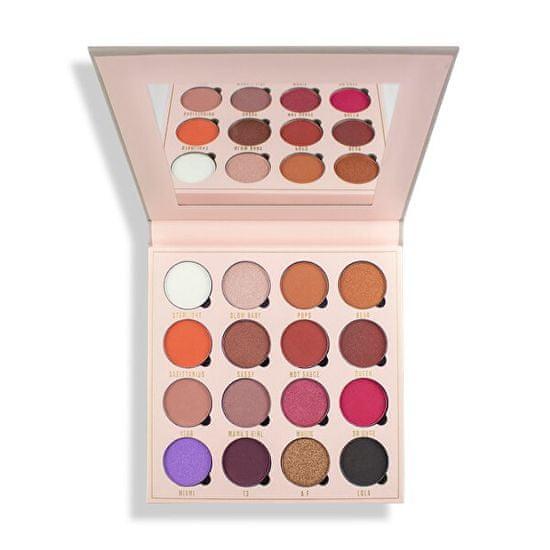 Makeup Obsession Belle Jorden (Eyeshadow Palette) 16 x 1,30 g