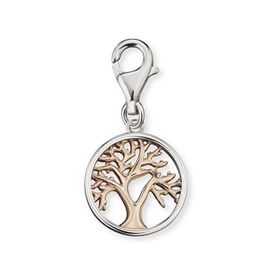 Engelsrufer Stříbrný bicolor přívěsek na náramek Strom života ERC-LILTREE-BI