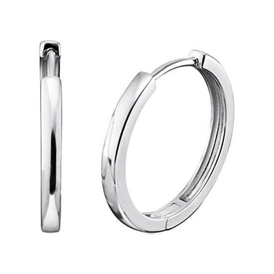 Engelsrufer Stříbrné náušnice kruhy Lisa ERE-LISA-CR