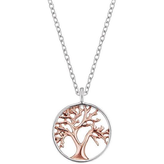 Engelsrufer Stříbrný bicolor náhrdelník Strom života ERN-LILTREE-BI stříbro 925/1000