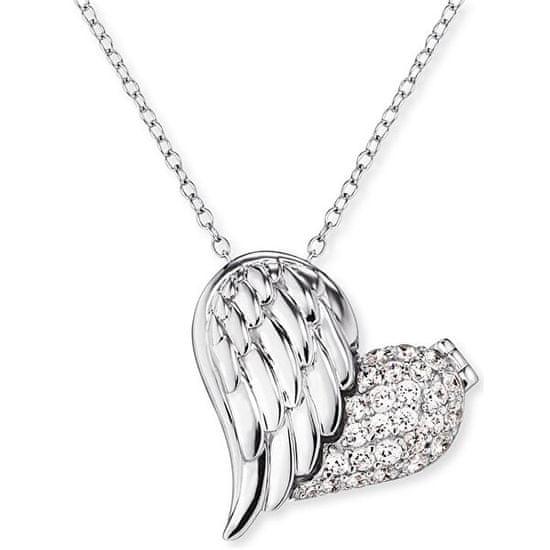 Engelsrufer Ezüst szív és angyal szárny nyaklánc ERN-WITHLOVE-2Z ezüst 925/1000