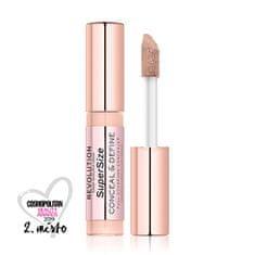 Makeup Revolution Folyékony korrektor(Conceal & Define Concealer SuperSize) 13 g (árnyalat C 2 Supersize)