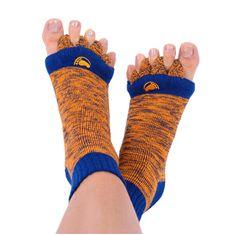 Pro nožky Adjustačné ponožky ORANGE / BLUE (Veľkosť L)
