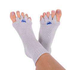 Pro nožky Adjustačné ponožky GREY (Veľkosť L)